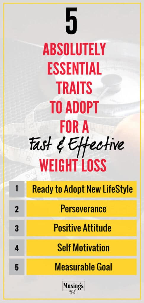 Fast & Effective Weight Loss Traits