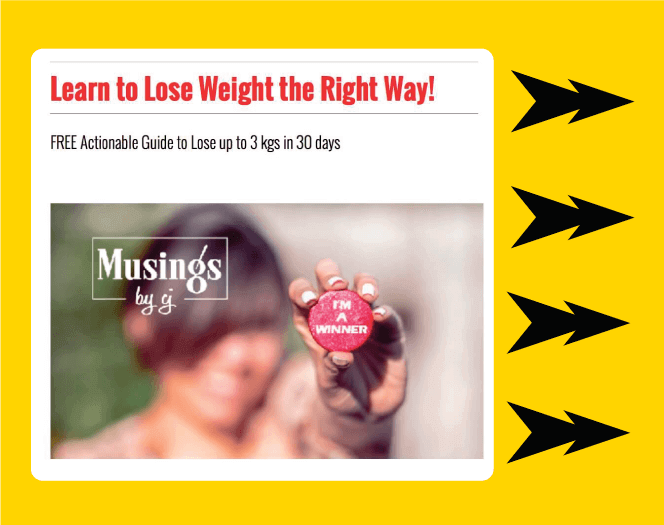 Exit Pop Up for Weight Loss