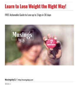 Learn to Lose Weight the Right Way
