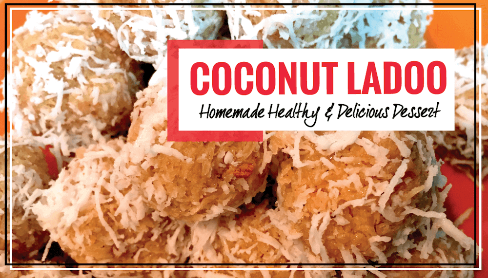 5-Minute Recipe for Fresh Coconut Ladoo with just Four Ingredients