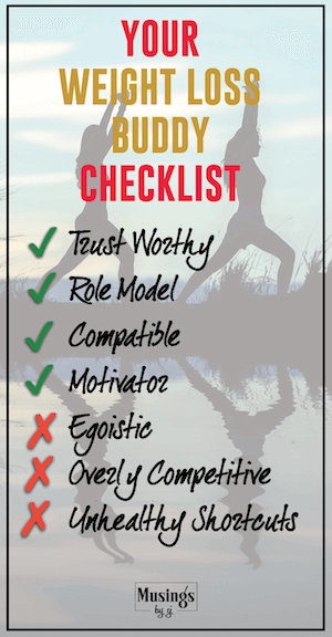 Weight Loss Buddy Checklist