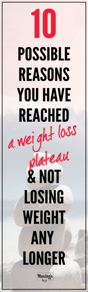 Reason why you are not losing weight