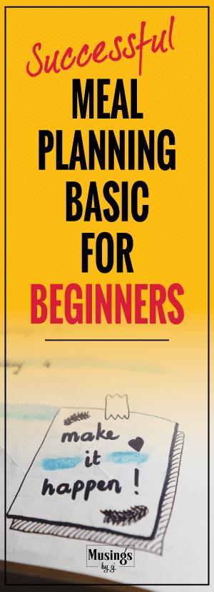 meal planning basics