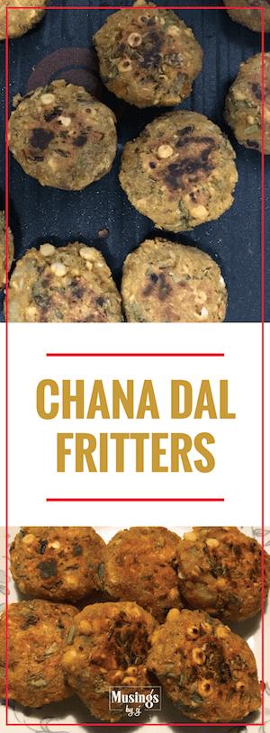 Chana Dal Fritters