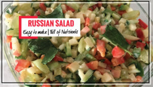 Low Calorie Simple and Healthy Russian Fruit Salad Recipe