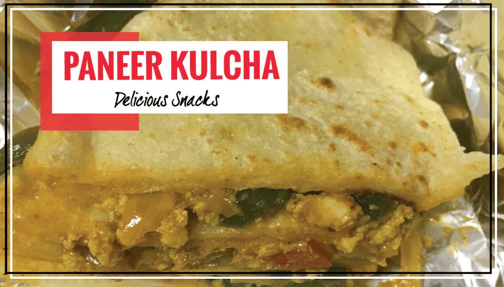 Homemade Paneer Kulcha | Tasty & Healthy & Nutritious Snack