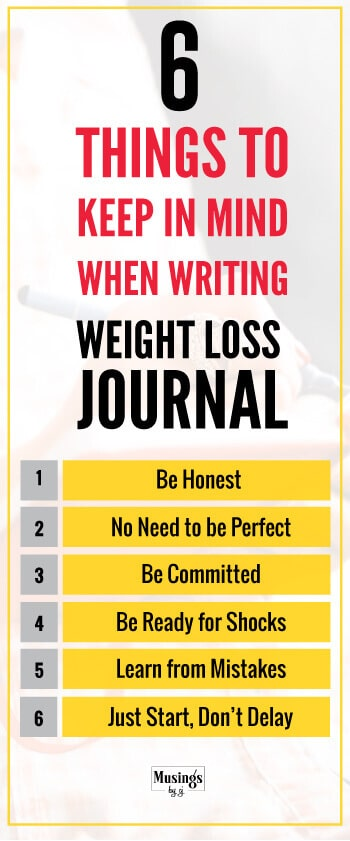 If you are looking at getting the maximum benefit from your Weight Loss Journal, you need to follow these six things religiously. Only when you are honest and follow the rules property, you will succeed