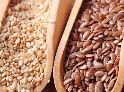 Flax Seeds & Sesame Seeds Healthy Snacks