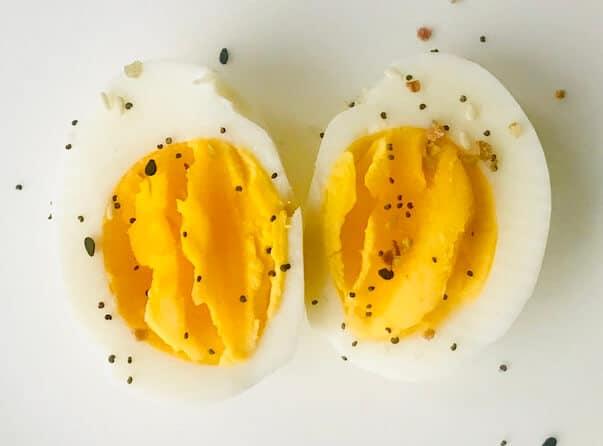 boiled egg healthy snack