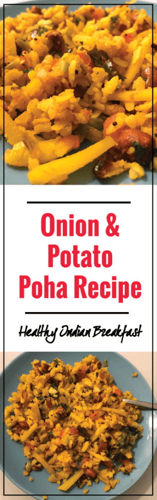 Onion & Potato Poha Recipe