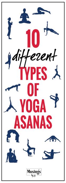types of yoga asanas
